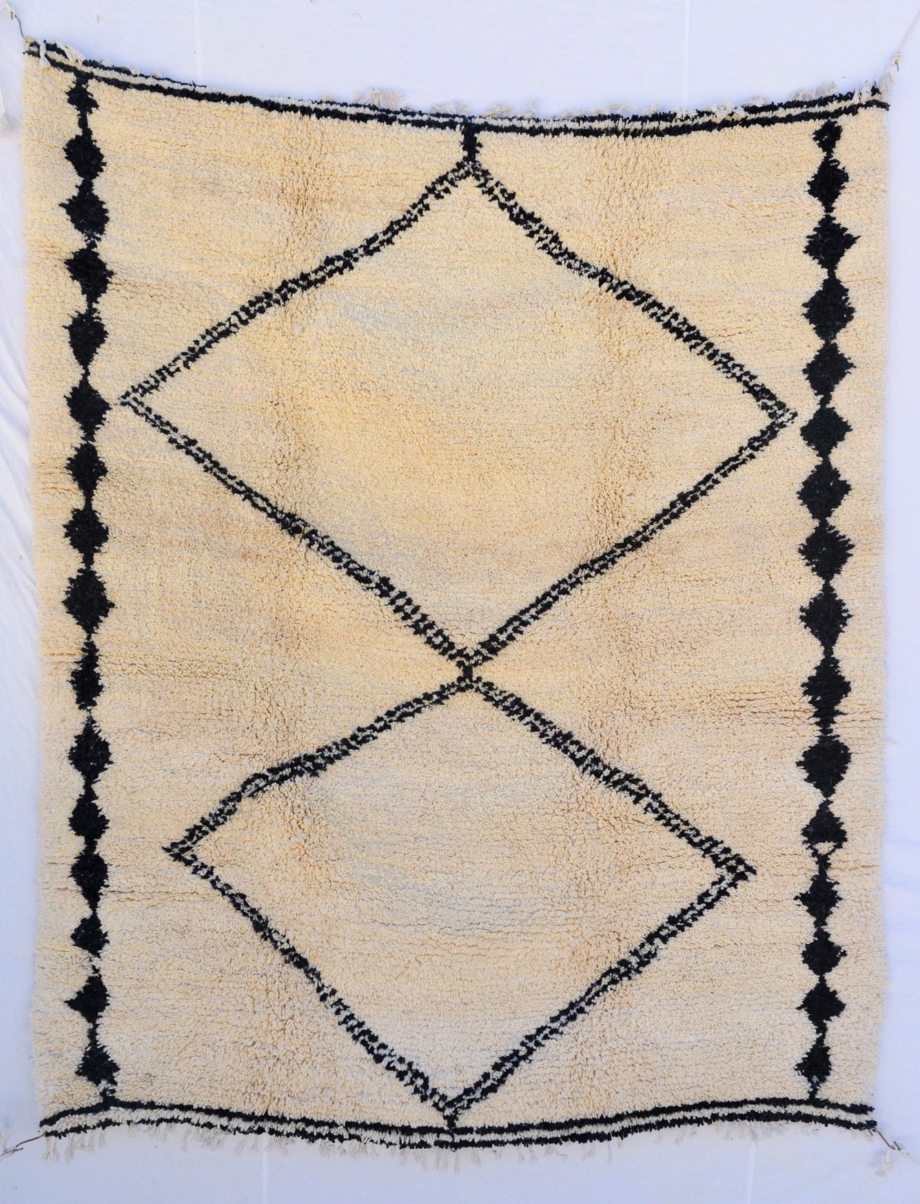 beni ourain design rug, size