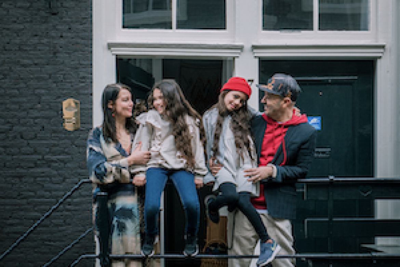 Home tour on Dutch TV